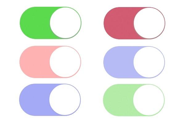 Как изменить цвет переключателей на iOS 8